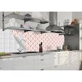 MySpotti Küchenrückwand »fixy Lobster Patern«, selbstklebende und flexible Küchenrückwand-Folie