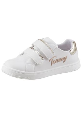 TOMMY HILFIGER Sneaker »Juice«, mit goldfarbenem Logoschriftzug kaufen