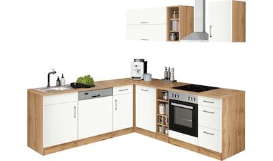 HELD MÖBEL Winkelküche »Colmar«, ohne E-Geräte, Stellbreite 210/240 cm kaufen