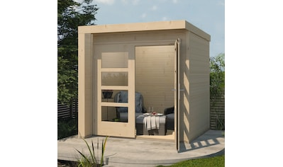 WEKA Gartenhaus »Design 262«, BxT: 214x215 cm kaufen