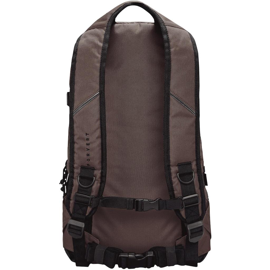 forvert Laptoprucksack »Louis, dark brown«