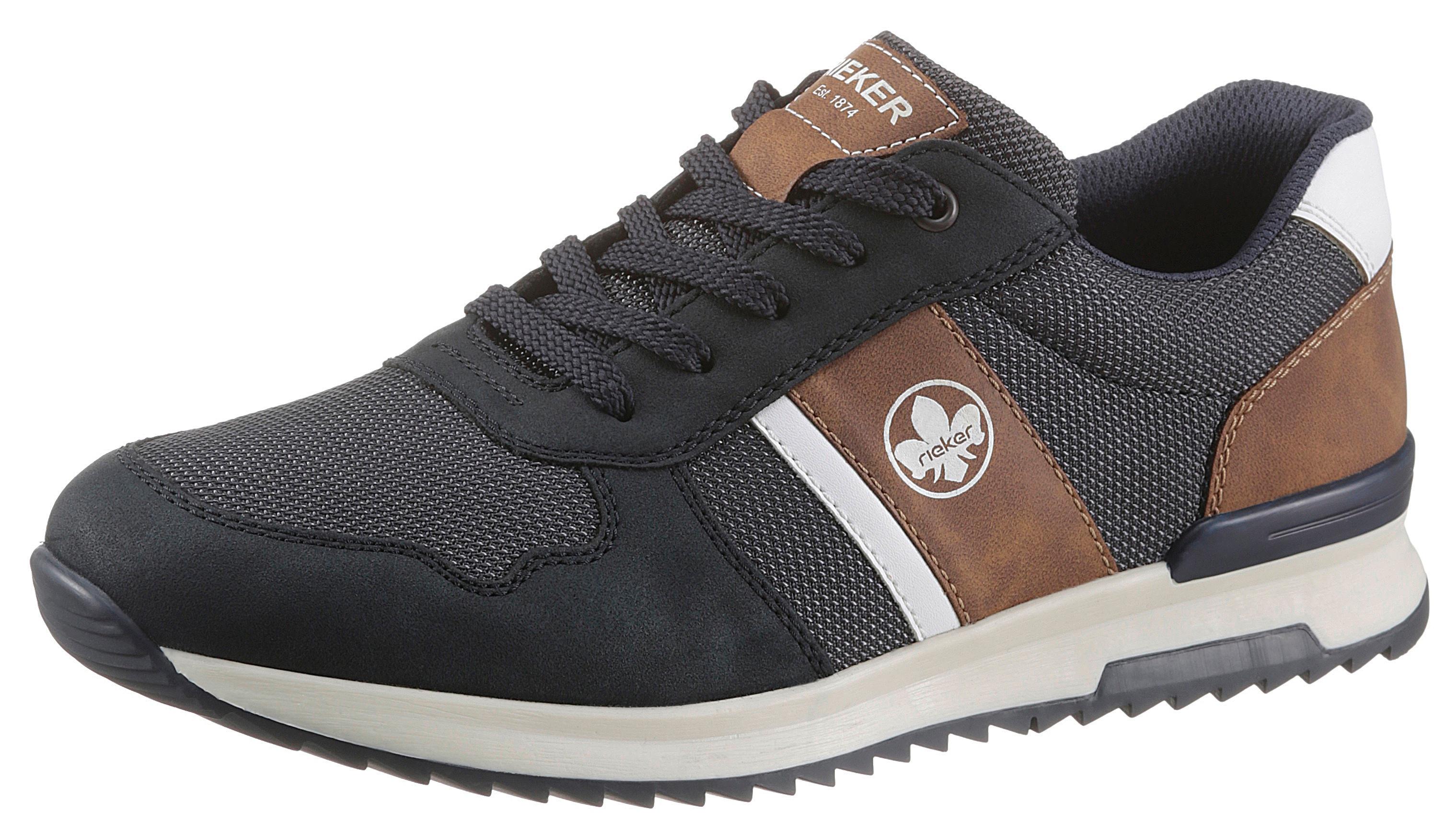 rieker -  Sneaker, mit praktischem Wechselfußbett
