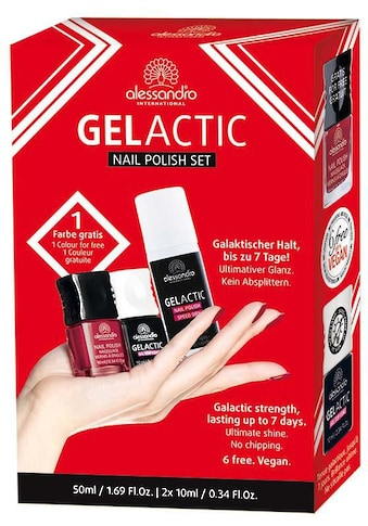 "alessandro international Nagellack - Set ""Gelactic Nail Polish Set"", 3 - tlg. kaufen"
