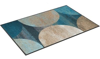 wash+dry by Kleen-Tex Teppich »Galaxia«, rechteckig, 7 mm Höhe, waschbar, Wohnzimmer kaufen