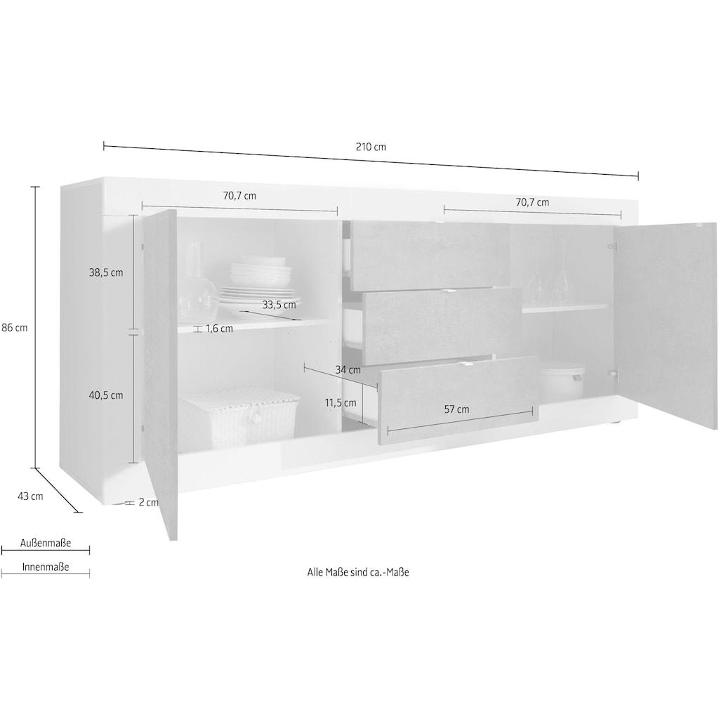 LC Sideboard »Basic«, 210 cm