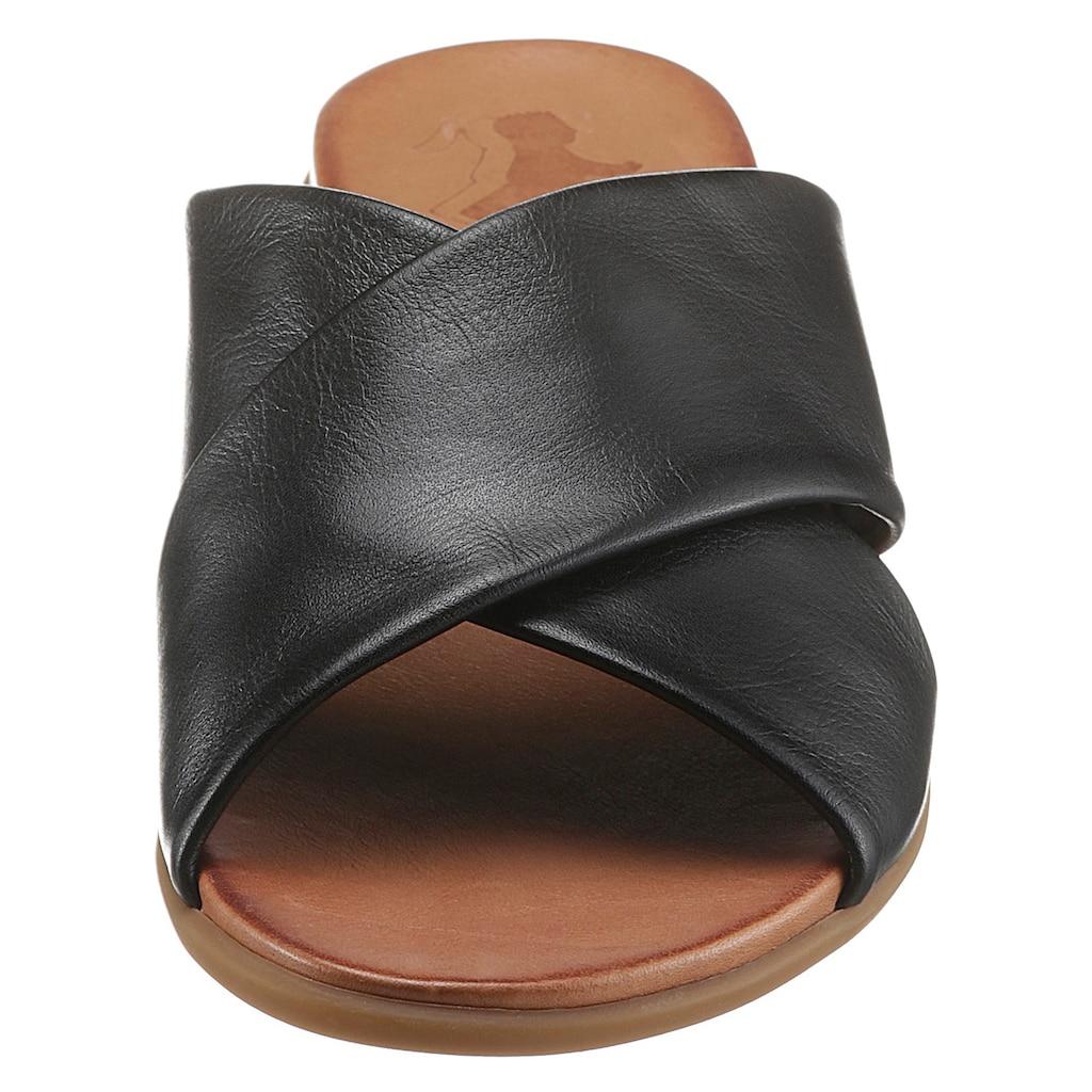 2GO FASHION Pantolette, mit leichter Gummilaufsohle