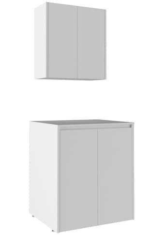 Waschmaschinenumbauschrank »Sedir«, Breite 70 cm, Badmöbel, weiß, Soft-Close kaufen