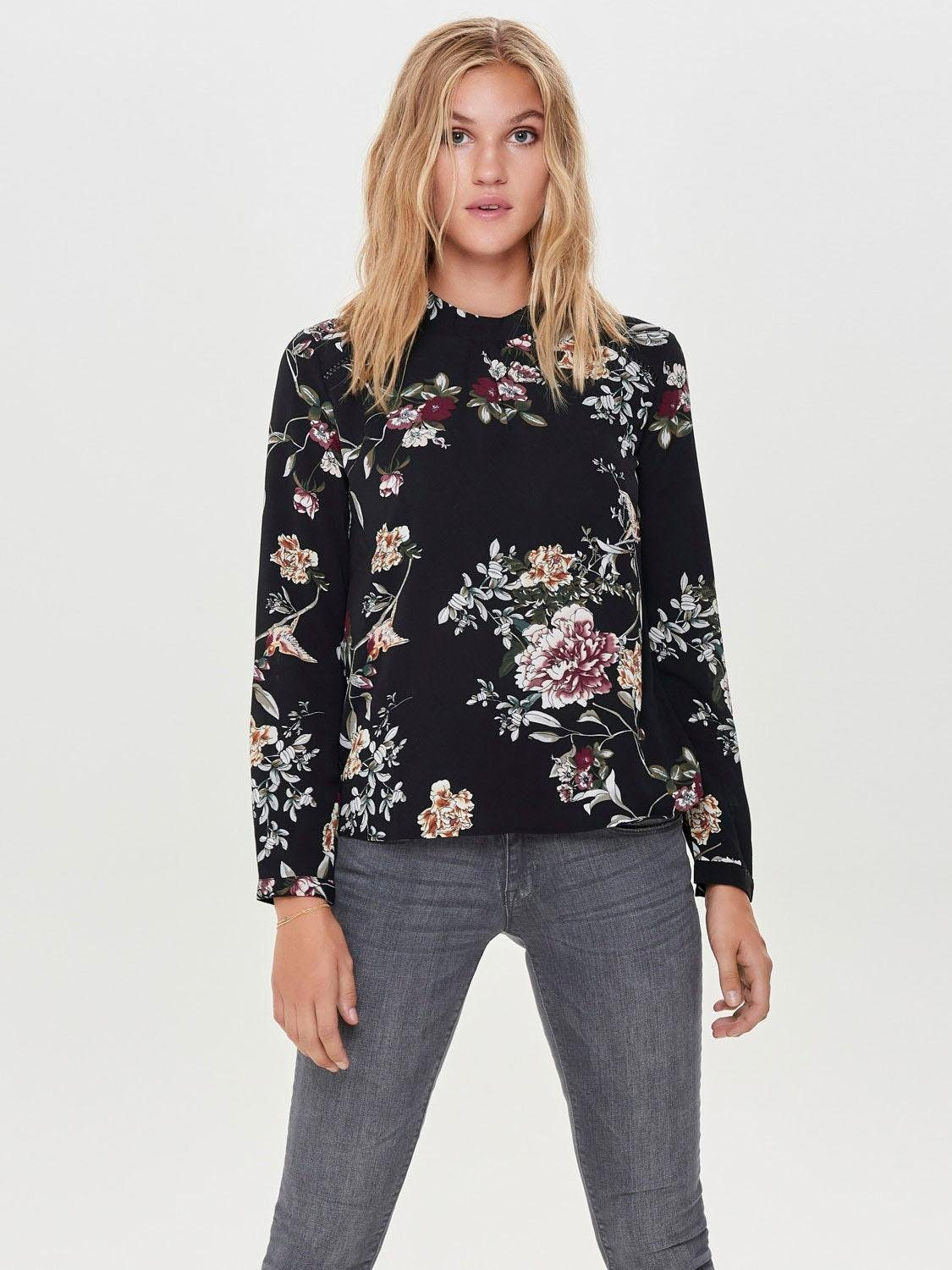 Only Druckbluse NEW MALLORY