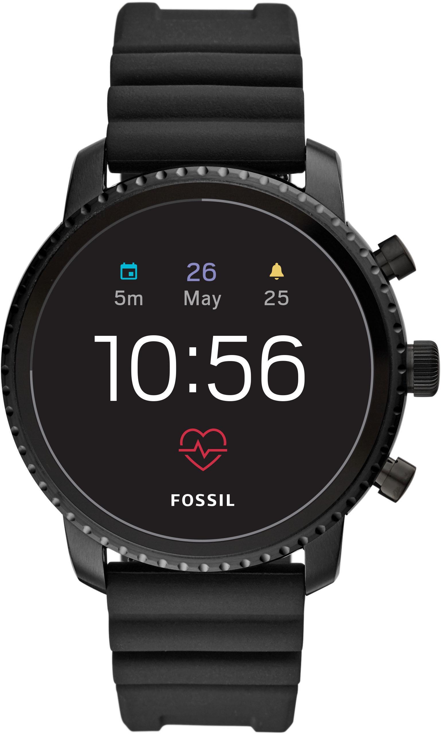 Fossil Smartwatches Q EXPLORIST HR FTW4018 Smartwatch | Uhren > Smartwatches | Fossil Smartwatches