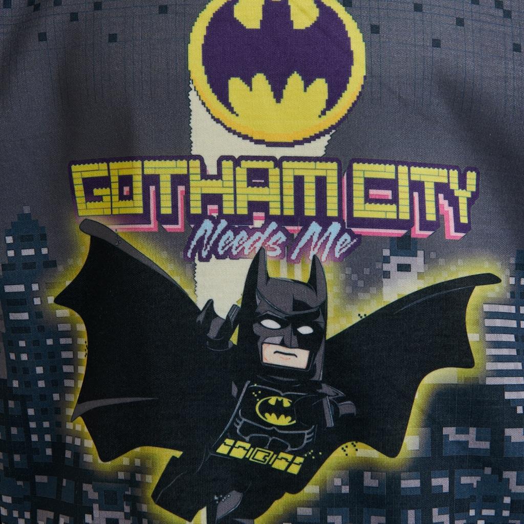 """LEGO® Wear Langarmshirt »CM-51121«, mit Batman und dem Bat Symbol """"Gotham City""""."""