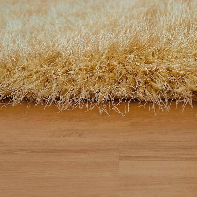 Hochflor-Teppich, »Glamour 300«, Paco Home, rechteckig, Höhe 70 mm, maschinell gewebt