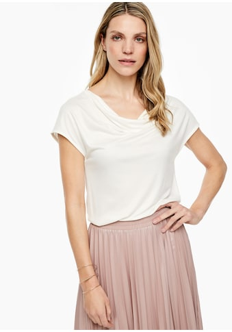 s.Oliver BLACK LABEL Jersey - T - Shirt kaufen