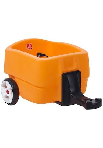 Step2 Kinderfahrzeug-Anhänger »Choo Choo«, orange, BxLxH: 50x81x39 cm kaufen
