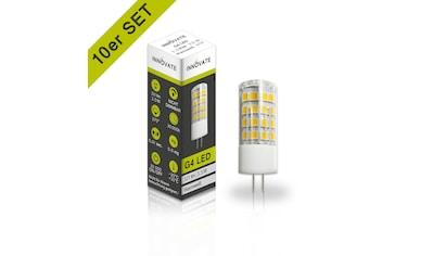 INNOVATE LED-Leuchtmittel G4 im praktischen 10er-Set kaufen