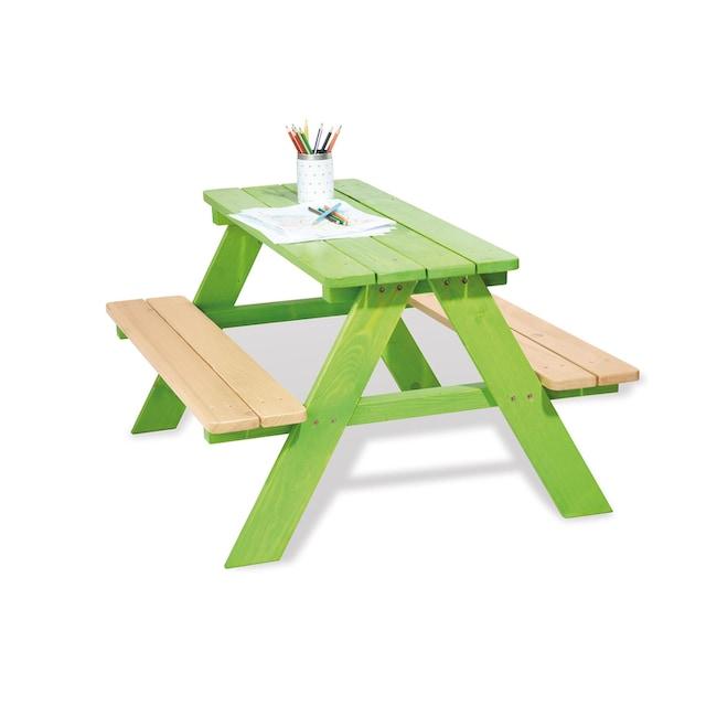 Pinolino® Kindersitzgruppe »Nicki für 4, grün«, Made in Europe