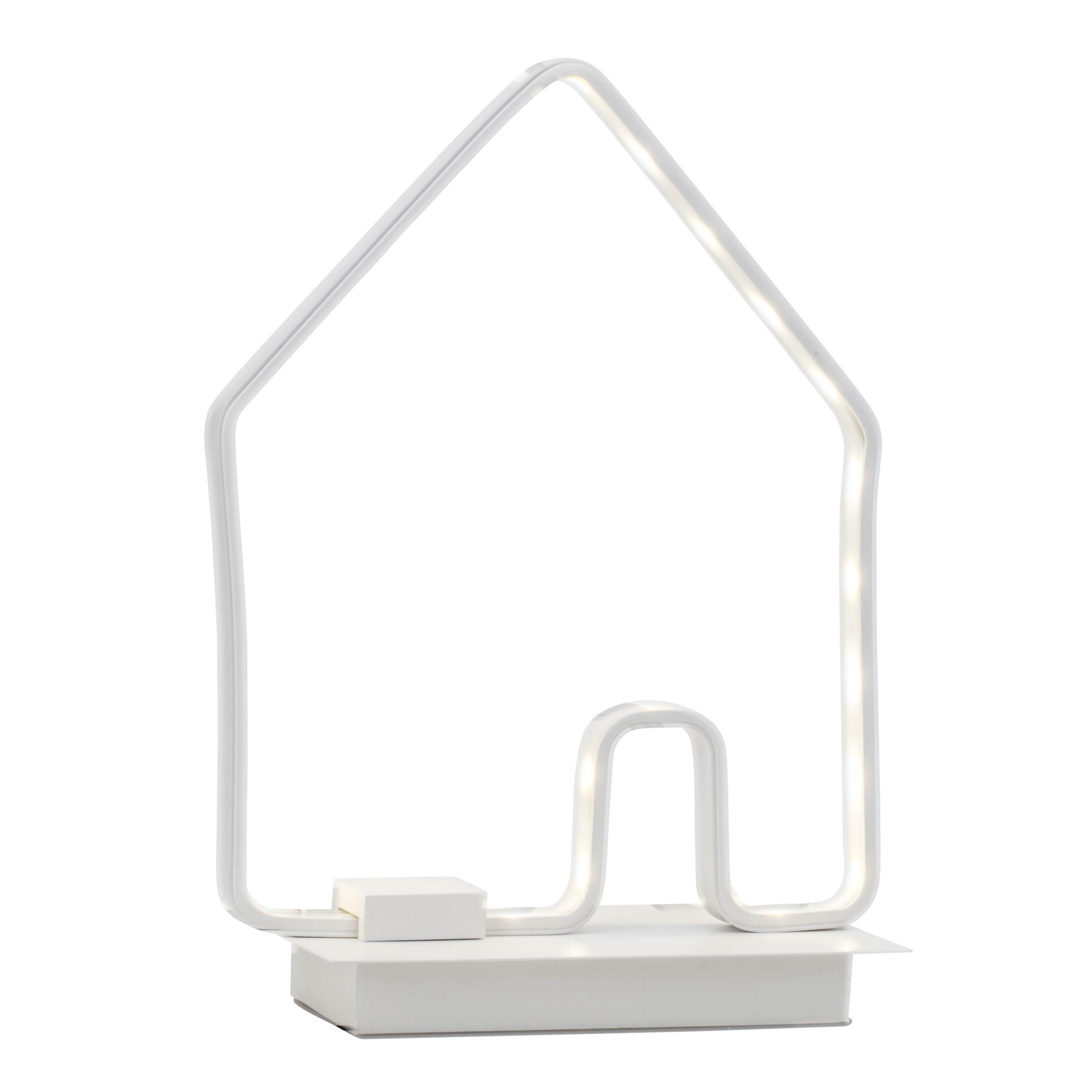 Brilliant Leuchten Casita LED Tischleuchte weiß