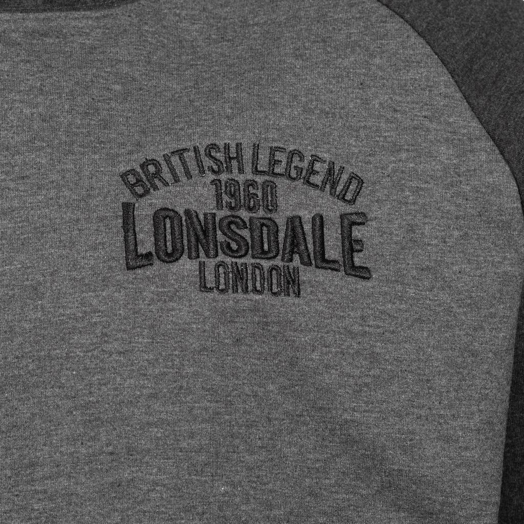 Lonsdale Kapuzensweatshirt mit Markenlogo