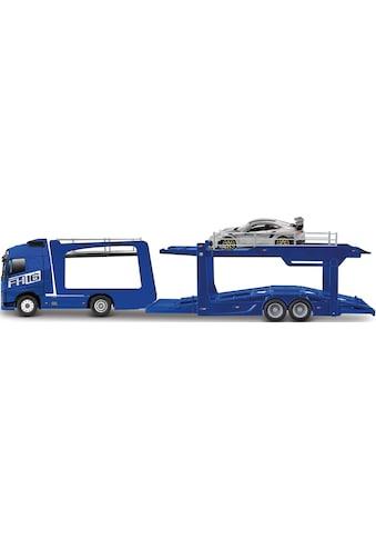 Bburago Spielzeug-Transporter »StreetFire Volvo FH16 Autotransporter«, inklusive... kaufen