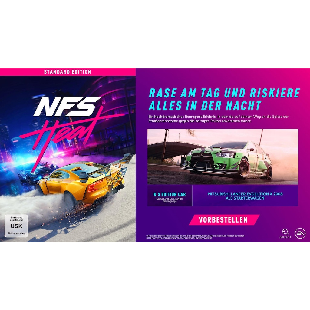Electronic Arts Spiel »Need for Speed Heat«, PlayStation 4