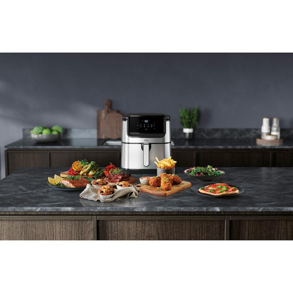 AEG Fritteuse »Gourmet 6 AF6-1-4ST«, 1500 W, Fassungsvermögen 3,5 l