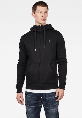 G-Star RAW Kapuzensweatjacke »Premium Basic Hooded Zip Sweater« kaufen