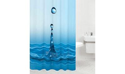SANILO Duschvorhang »Tropfen«, 180 x 200 cm kaufen