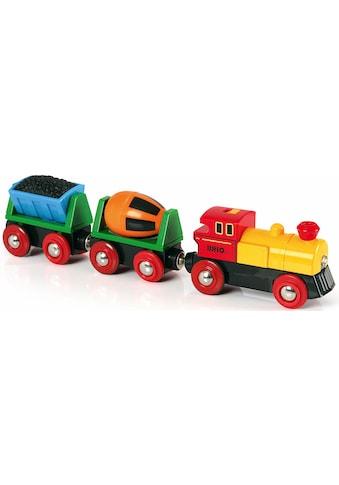 """BRIO® Spielzeug - Eisenbahn """"BRIO® WORLD Zug mit Batterielok"""" kaufen"""