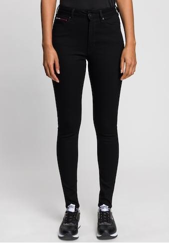 Tommy Jeans Skinny-fit-Jeans »SYLVIA HR SUPER SKNY«, mit Tommy Jeans Logo-Badge &... kaufen