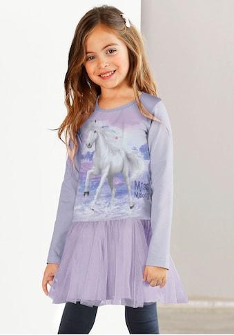 Miss Melody Jerseykleid, mit Tüllrock und Pferdemotiv kaufen