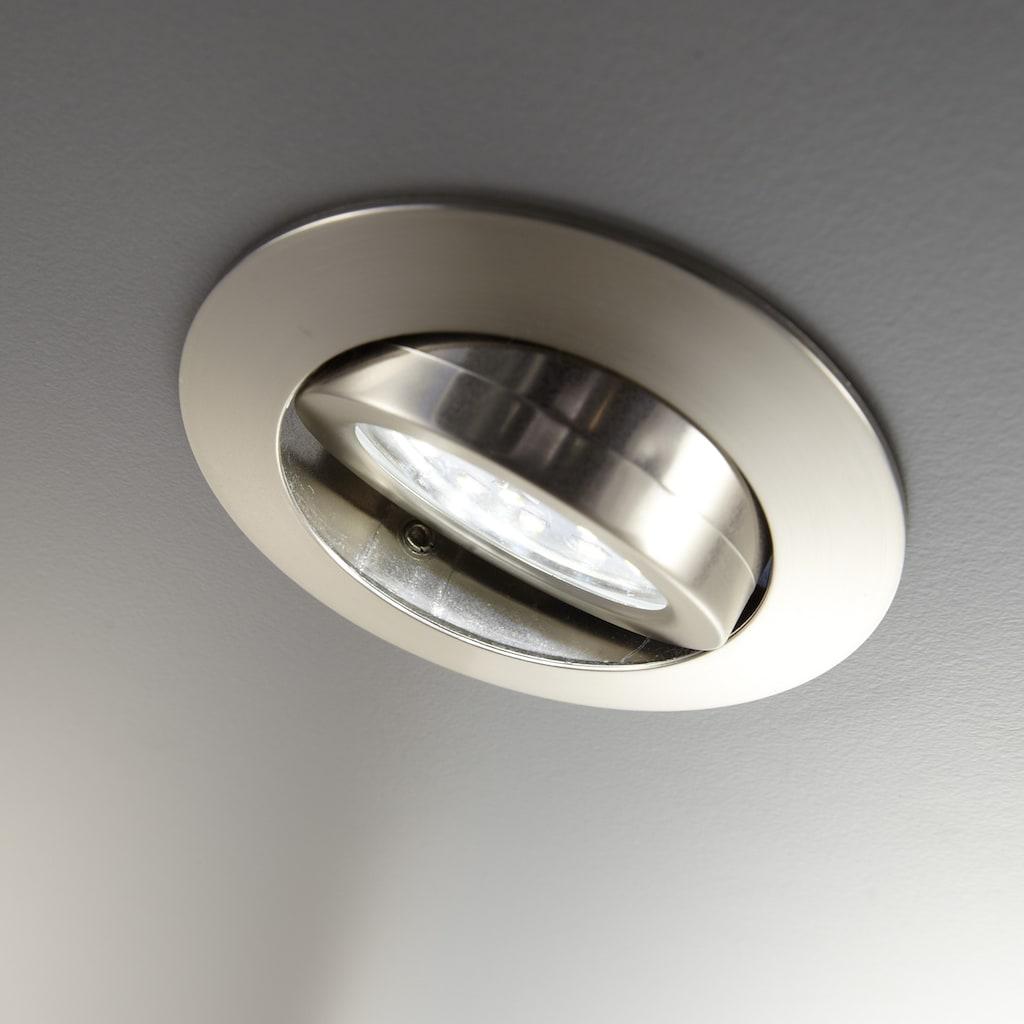 B.K.Licht LED Einbauleuchte »Kiro«, LED-Board, Warmweiß, LED Einbaustrahler ultra-flach schwenkbar Decken-Spot inkl. 5W 400lm 3.000K