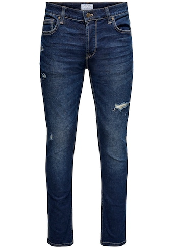 ONLY & SONS Slim-fit-Jeans »LOOM LIFE SLIM DAMAGE« kaufen