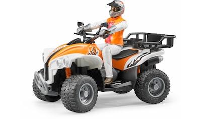 """Bruder® Spielzeug - Quad """"Quad mit Fahrer (Kleidungsfarben gemischt sortiert)"""" kaufen"""