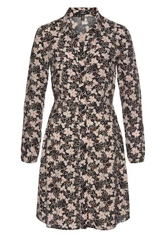 Mavi Hemdblusenkleid »LONG SLEEVE DRESS«, mit grafischen Allover Design kaufen