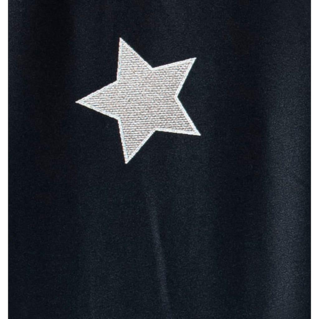 Goldmond Bettwäsche »Metallic Sterne«, hochwertiger Metallicdruck