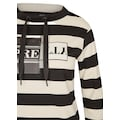 LeComte Print-Shirt, mit Ringeln und Front-Print