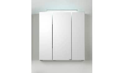 HELD MÖBEL Spiegelschrank »Siena«, Breite 80 cm, mit sparsamer LED-Beleuchtung kaufen