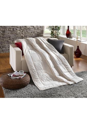 Dreams Baumwollbettdecke »Baumwolldecke Comfort«, leicht, Füllung 100% Baumwolle, Bezug 100% Baumwolle, (1 St.), sehr gute Atmungsaktivität und optimale Feuchtigkeitsregulierung kaufen