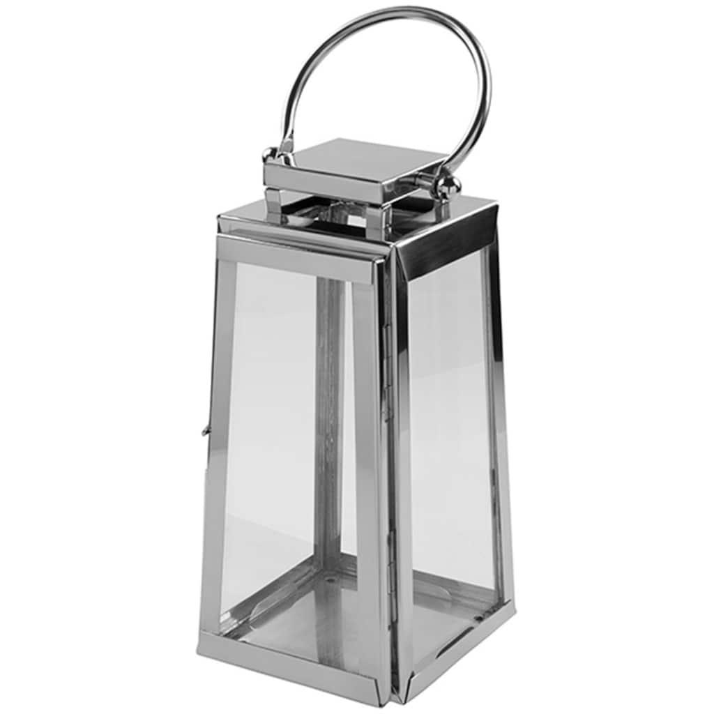 Fink Kerzenlaterne »MONACO«, aus Edelstahl und Glas
