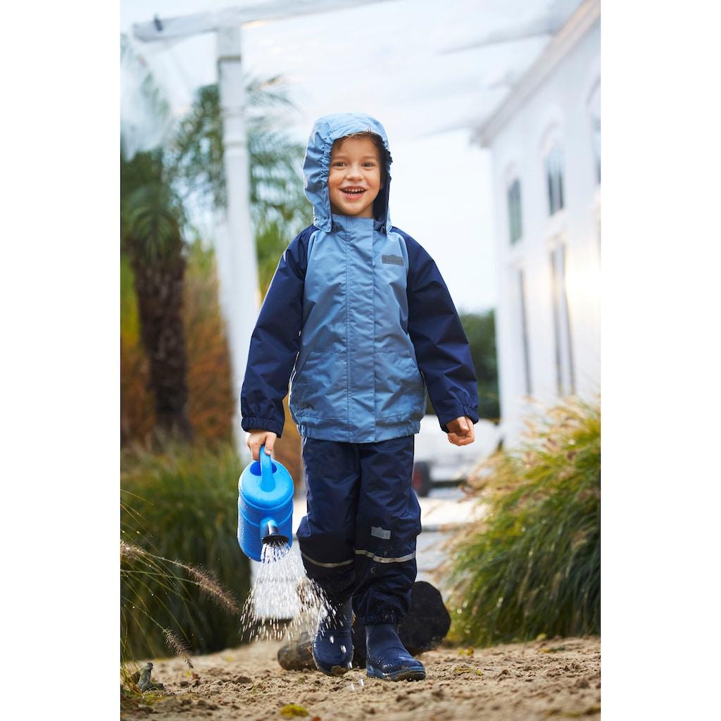 Scout Regen- und Matschlatzhose »PUDDLE«, mit reflektierenden Streifen am Bein