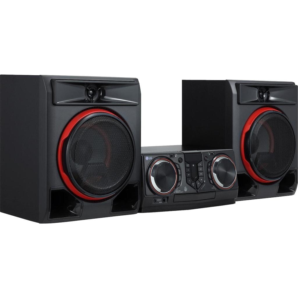 LG »CL65« Kompaktanlage (FM-Tuner mit RDS, 950 Watt)