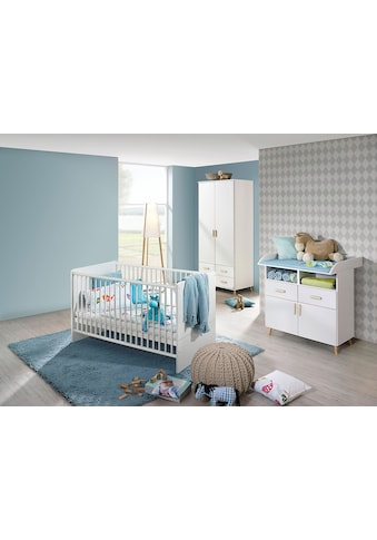 rauch ORANGE Babyzimmer-Komplettset »Potsdam«, (Set, 3 St.), Bett + Wickelkommode + 2... kaufen