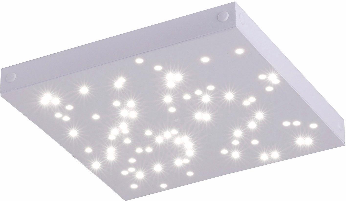 Paul Neuhaus Deckenleuchte UNIVERSE, Neutralweiß-Warmweiß-Tageslichtweiß-Warmweiß, MASTER-PANEL mit Funkfernbedienung, inklusive Serienschalter, inklusive LED Leuchtmitteln