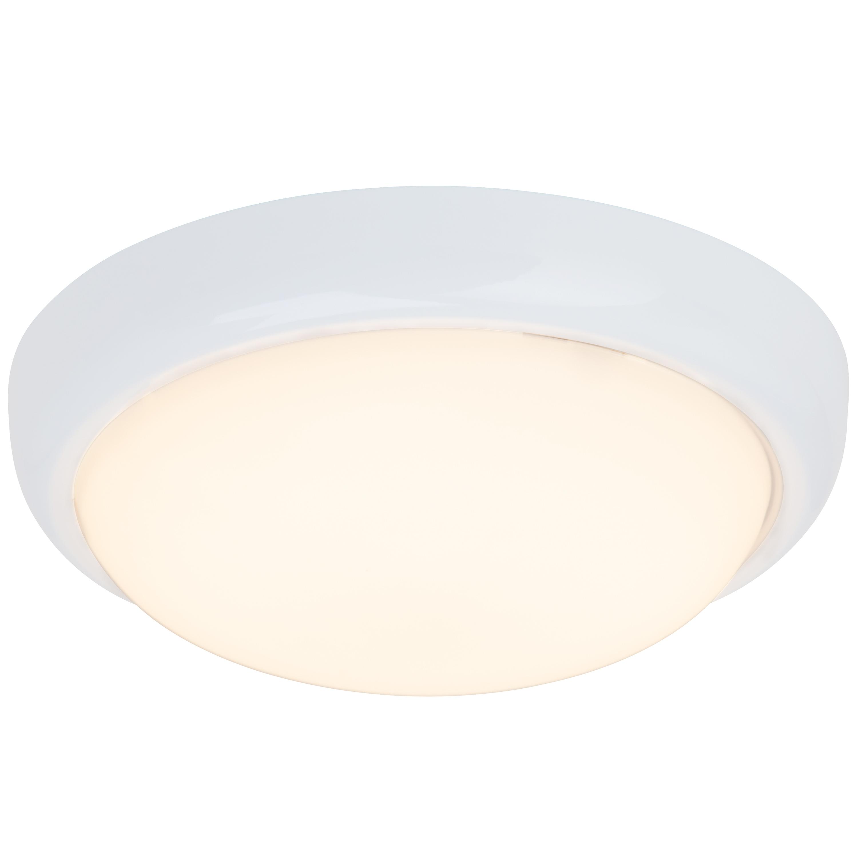 Brilliant Leuchten Vigor LED Wand- und Deckenleuchte 25cm weiß