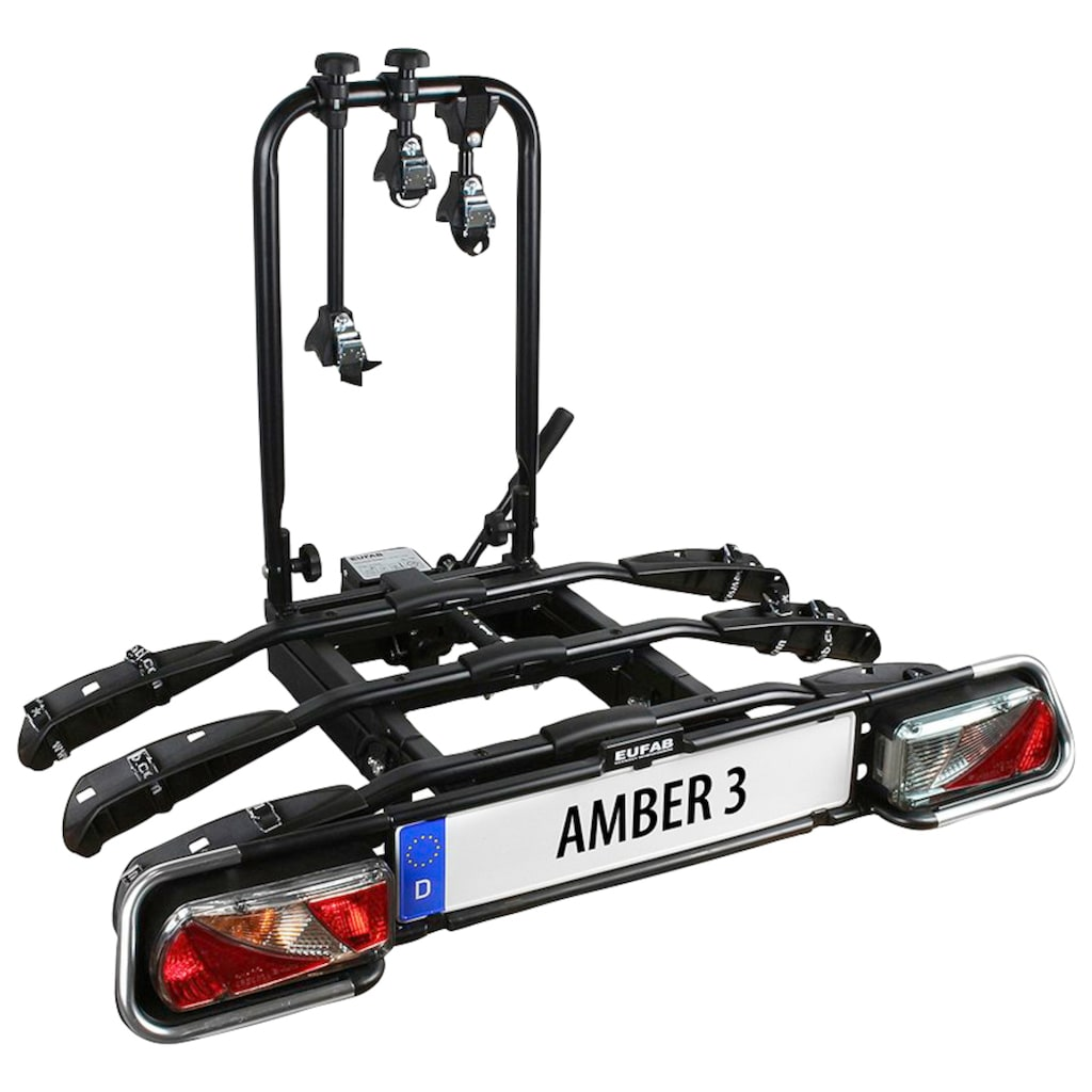 EUFAB Kupplungsfahrradträger »AMBER 3«