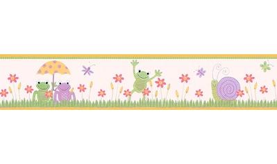 LIVINGWALLS Bordüre »Stick Ups Frog«, für das Kinderzimmer, selbstklebend kaufen
