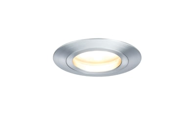 Paulmann LED Einbaustrahler »Coin satiniert rund 7W Alu 3er-Set dimmbar«, 3 St., Warmweiß kaufen