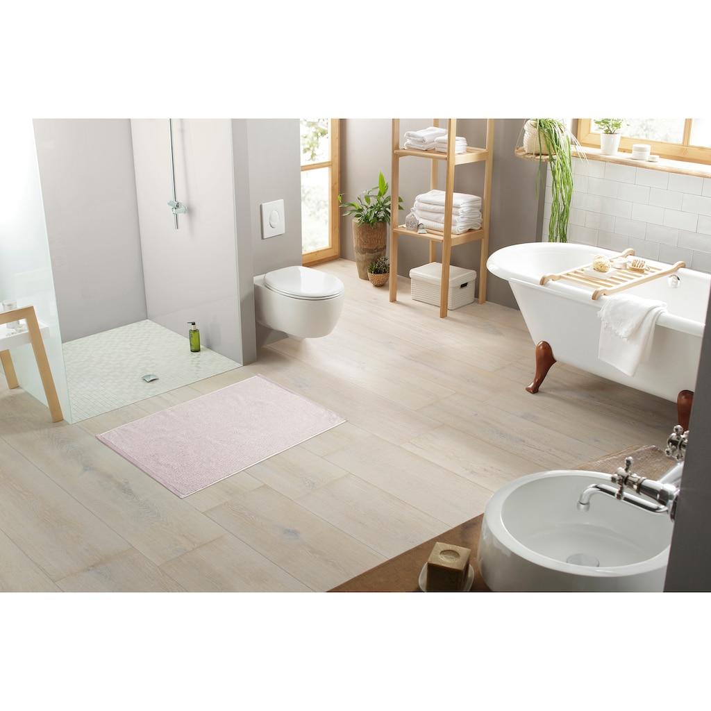 elbgestoeber Hotelmatte »Elbfrottee«, Höhe 4 mm, beidseitig nutzbar, 2er-Set