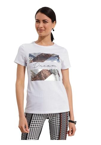 Amy Vermont Paillettenshirt, mit Foliendruck kaufen