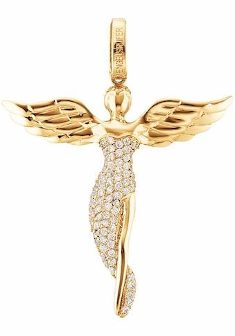 Engelsrufer Engelanhänger »Bright like a diamond, ENGEL MIT STEIN GOLD PLATED,... kaufen