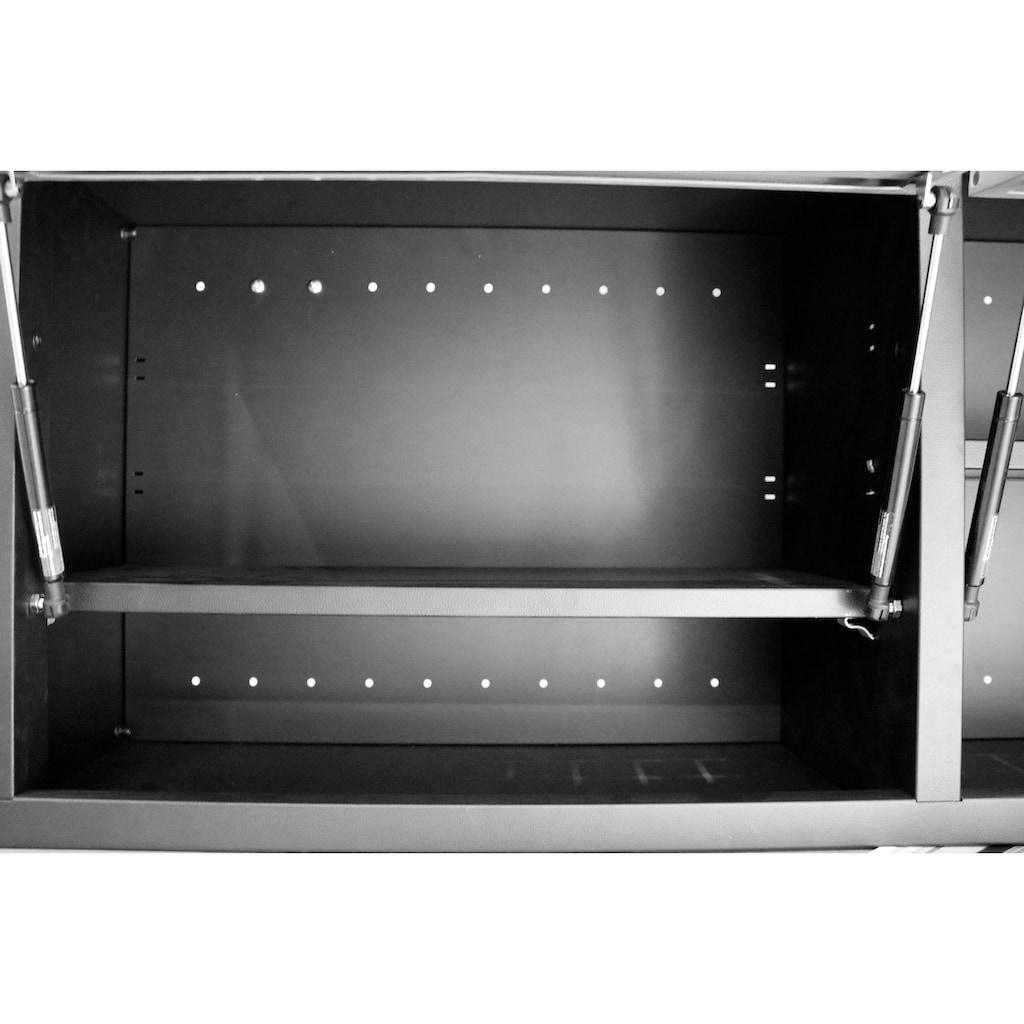 Güde Hängeschrank, B/T/H: 120x30,5x46 cm, 2 Türen, abschließbar, für Werkstatt GWS 2 T